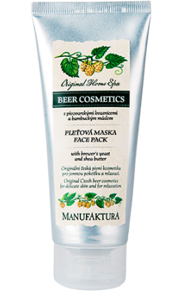 Manufaktura  Nourishing face mask with brewery yeast and shea butter 100 ml