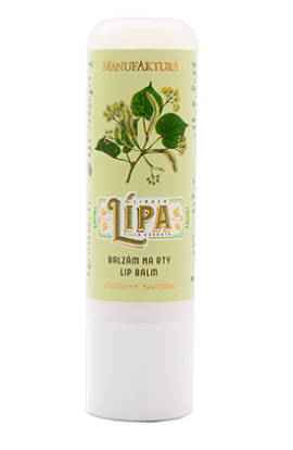 Manufaktura  High-Care lip balm with linden, apricot oil and beeswax  4g
