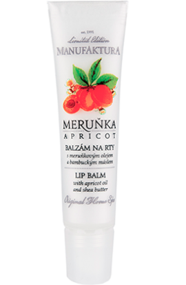 Manufaktura   Lip Balm with Apricot Oil and Shea Butter   15 ml
