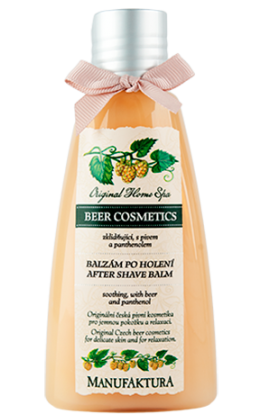 Manufaktura   Soothing after-shave balm with beer and panthenol  160 ml
