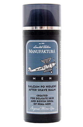 Manufaktura MEN   After shave balm with herbal complex, panthenol and hyaluronic acid  50 ml