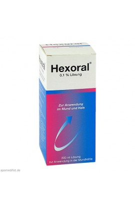 Johnson & Johnson, Hexoral 0.1 % Lösung, 200 ml