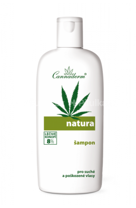 Cannaderm Natura Shampoo for Dry Damage hair 200m