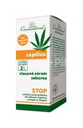 Cannaderm Capillus hair serum seborea 40ml