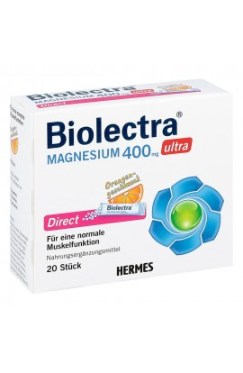 Biolectra Magnesium 400 mg Ultra Direct Orange (20 pcs)
