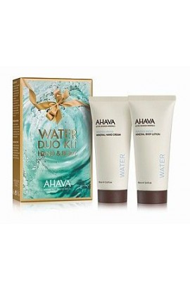 Ahava Duo mineral hand cream and body milk 100 ml