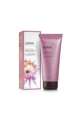 Ahava Mineral shower gel cactus and pink pepper 200 ml