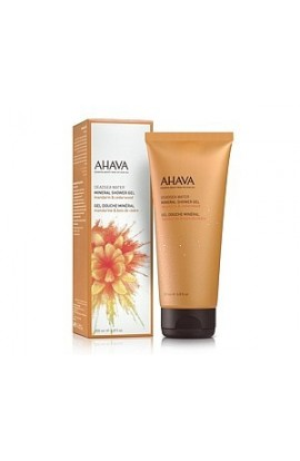 Ahava Mineral shower gel tangerine and cedar wood 200 ml