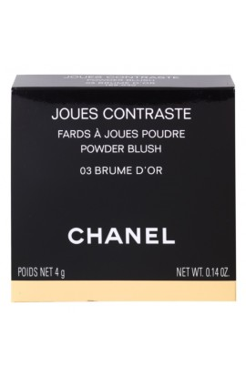 Chanel, Joues Contraste, blush, 4 g, shade: 03 Brume D'or