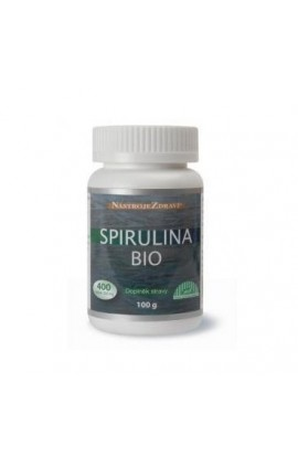 Spirulina BIO (food supplement) 400 pcs Blue step