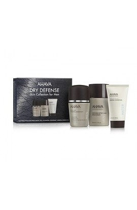 Ahava Gift Set Dry Defense Skin Collection for Men