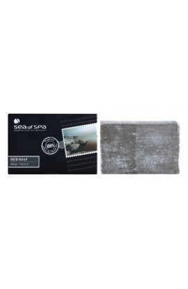 Sea of Spa, Essential Dead Sea Treatment, solid soap with black mud, 200g