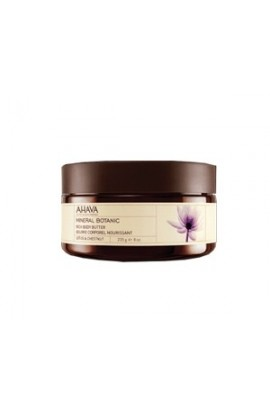 Ahava rich body butter with lotus and chestnut 235 g