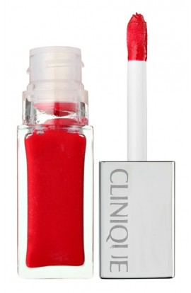 Clinique, Pop Lacquer, Lip Gloss, 6 ml, Shade: 02 lava