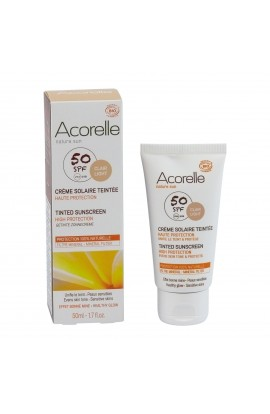 ACORELLE, SPF 50 FOAMING TREATMENT CREAM, 50 ML