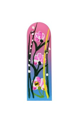 Fulgent World, Nail file, Hand Painted Collection, PL HF45m-0306