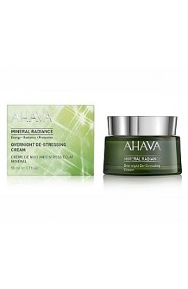 Ahava Mineral Radiance Overnight De-Stressing Cream 50 m