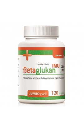 APOTEX, Betaglukan IMU 200 mg, 120 pieces