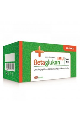APOTEX, Betaglukan IMU 200 mg, 60 pieces
