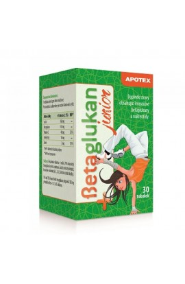 APOTEX, Betaglukan JUNIOR 100 mg, 30 pieces