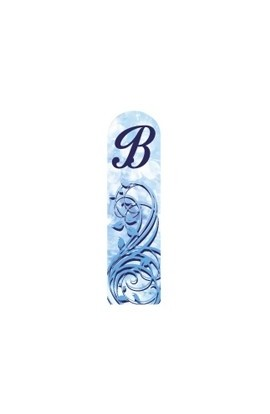 Fulgent World, Nail file, 3D Letter Collection, 3DABC-B