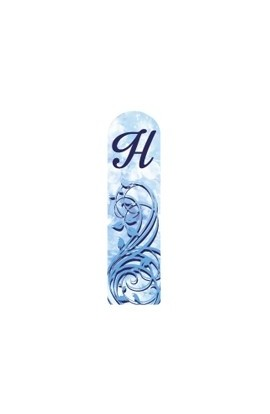 Fulgent World, Nail file, 3D Letter Collection, 3DABC-H
