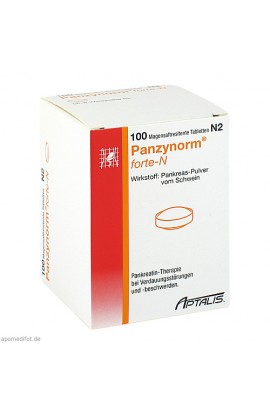 ALLERGAN, PANZYNORM FORTE N MAGENS, 100 tab