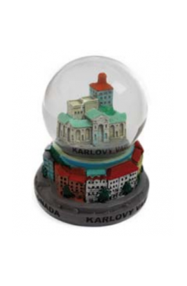 Fulgent World, Snow Balls, Snow Globe, VK-08, 45мм