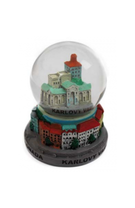 Fulgent World, Snow Balls, Snow Globe, VK-02, 65mm