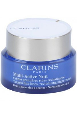 Clarins, Multi-Active,  night revitalizing cream for fine lines for normal and dry skin, 50 ml