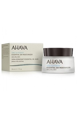 Ahava Time to Hydrate Essential Day Moisturizer cream for Very Dry Skin 50 ml