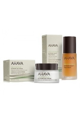 Ahava Extreme set of day and night care