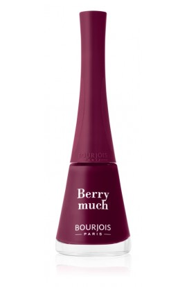 Bourjois, 1 Seconde, quick-drying nail polish, 9 ml, Hue: 007 Berry Much