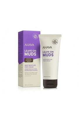 Ahava Leave On Muds Deep Moisture Foot Cream 100 ml
