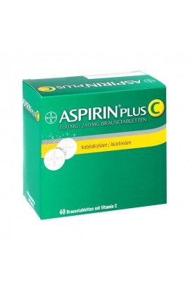 Bayer Aspirin plus C (40 шт)