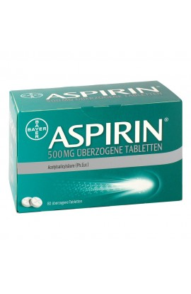 Bayer Aspirin 500mg (80 pcs)