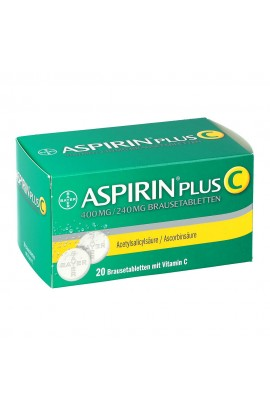 Bayer Aspirin plus C (20 шт)