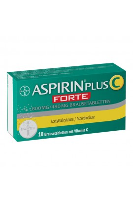 Bayer Aspirin C Forte 800mg / 480mg (10pcs)