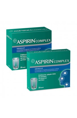 Bayer Aspirin COMPLEX Granules economy package (1 pck)