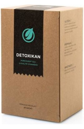 Herbal tea Detoxikan 20 x 2 g Aromatica