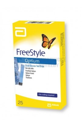 Abbott Test strips FreeStyle Optium 25 pcs