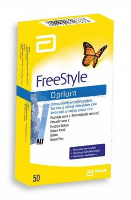 Abbott Test strips FreeStyle Optium 50 pcs