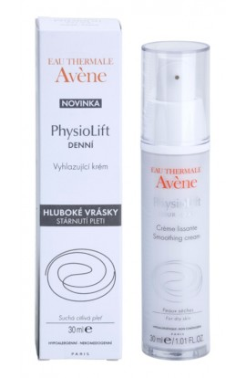 Avène, PhysioLift, smoothing day cream against deep wrinkles, 30 ml
