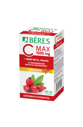Béres, C MAX 1500 mg RETARD, 90 ks