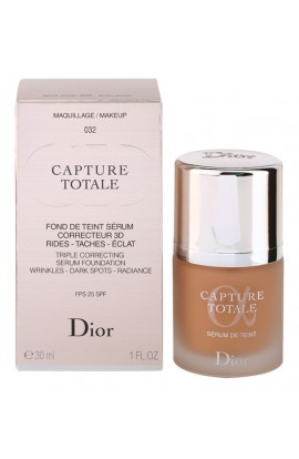 Dior, Capture Totale,shade 32 Rosy Beige SPF 25 ,Serum and make-up against wrinkles, 30 ml