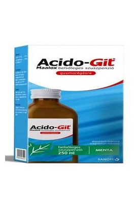 Aramis, ACIDO-GIT MAALOX, 250 ml