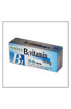 BÉRES, B1 vitamin 10 mg, 30 pieces