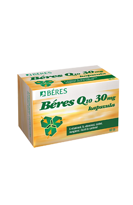 BÉRES, Q10 30 mg, 60 pieces