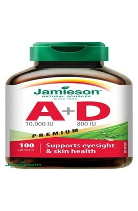 JAMIESON, A&D3-VITAMIN FORTE, 100 pieces