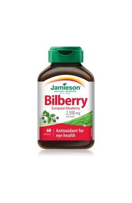 JAMIESON, BILBERRY, 60 pieces